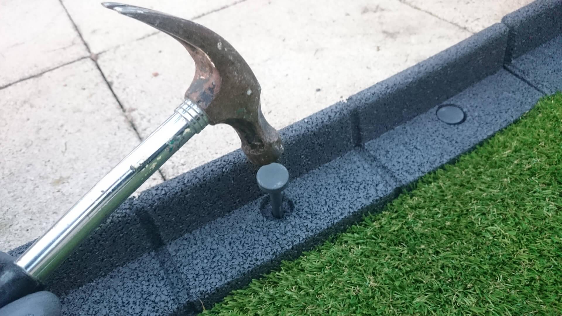 Easy Edge Installation Enviro Blocks Garden Edging